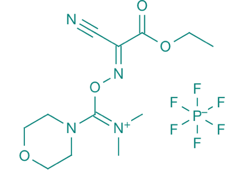 (1-Cyano-2-ethoxy-2-oxoethylidenaminooxy)dimethyl- aminomorpholinocarbeniumhexafluorophosphat, 98%