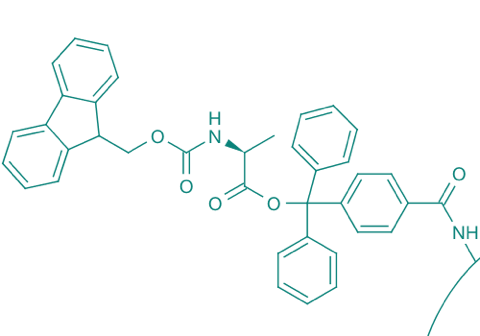 Fmoc-L-Ala-TCP-Resin