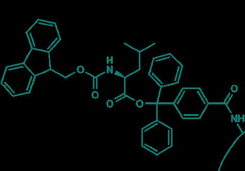 Fmoc-L-Leu-TCP-Resin