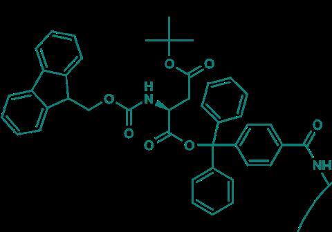 Fmoc-L-Asp(OtBu)-TCP-Resin