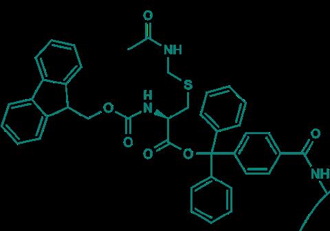 Fmoc-L-Cys(Acm)-TCP-Resin