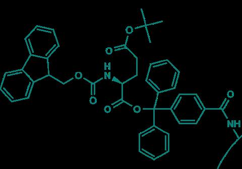 Fmoc-L-Glu(OtBu)-TCP-Resin