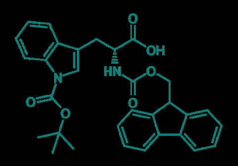 Fmoc-D-Trp(Boc)-OH, 98%