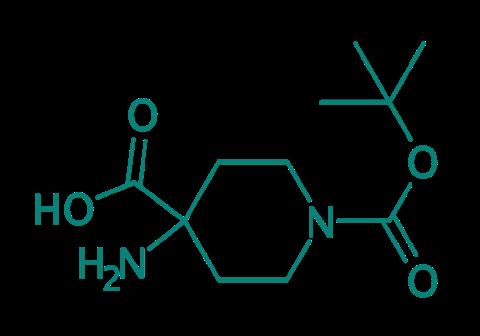 4-Amino-1-boc-piperidin-4-carbonsäure, 97%