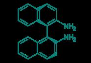(S)-(-)-2,2'-Diamino-1,1'-binaphthalin, 99%