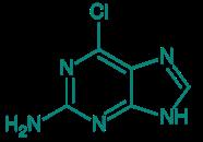 2-Amino-6-chlorpurin, 98%