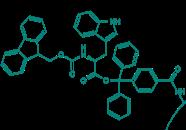Fmoc-L-Trp-TCP-Resin