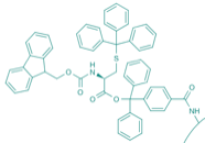 Fmoc-L-Cys(Trt)-TCP-Resin