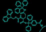 Fmoc-L-Gln(Trt)-TCP-Resin