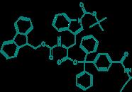 Fmoc-L-Trp(Boc)-TCP-Resin