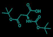 Boc-Asp(OtBu)-OH, 98%