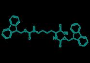 Fmoc-Lys(Fmoc)-OH, 95%