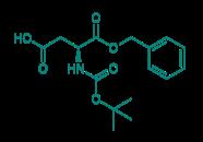 Boc-D-Asp-OBzl, 98%