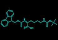 Fmoc-D-Lys(Boc)-OH, 98%