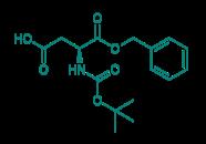 Boc-Asp-OBzl, 98%