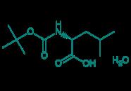 Boc-D-Leu-OH · H2O, 98%