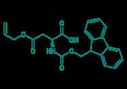 Fmoc-Asp(OAll)-OH, 97%