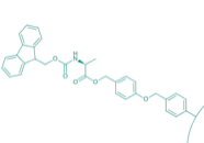 Fmoc-Ala-Wang-Harz (1% DVB; 100-200 mesh; 0,3-0,8 mmol/g)