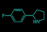 2-(4-Fluorphenyl)pyrrolidin, 95%