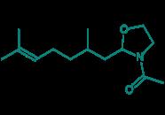 3-Acetyl-2-(2,6-dimethyl-5-heptenyl)oxazolidin, 98 %
