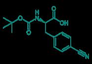 Boc-Phe(4-CN)-OH, 98%