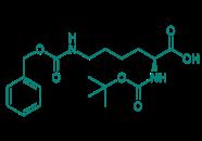 Boc-Lys(Z)-OH, 98%