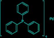 Tetrakis(triphenylphosphin)palladium(0) (kristallin), 98%