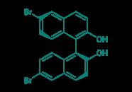 (S)-(+)-6,6'-Dibrom-1,1'-bi-2-naphthol, 97%