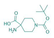 4-Amino-1-boc-piperidin-4-carbonsäure, 97%
