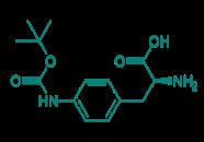 H-Phe(4-NHBoc)-OH, 96%