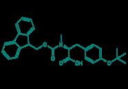 Fmoc-N-Me-Tyr(tBu)-OH, 95%