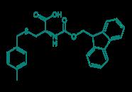 Fmoc-Cys(pMeBzl)-OH, 97%