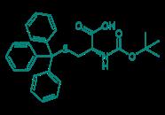 Boc-D-Cys(Trt)-OH, 98%