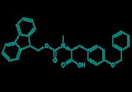 Fmoc-N-Me-Tyr(Bn)-OH, 98%