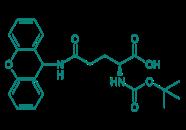 Boc-D-Gln(Xan)-OH, 98%