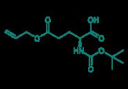 Boc-D-Glu(OAll)-OH, 98%