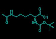 Boc-Lys(Ac)-OH, 97%