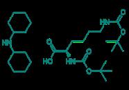 Boc-D-Lys(Boc)-OH · DCHA, 97%