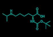 Boc-Lys(iPr)-OH, 98%