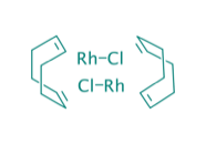 Chlor(1,5-cyclooctadien)rhodium(I)dimer, 98%