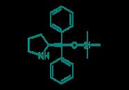 (S)-(-)-alpha,alpha-Diphenyl-2-pyrrolidinmethanol- trimethylsilyether, 95%