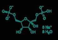 D-Fructose-1,6-diphosphattrinatriumsalz 8H2O, 98%
