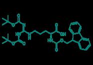 Fmoc-Arg(Boc)2-OH, 95%