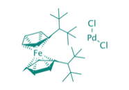 PdCl<sub>2</sub>(dtbpf), 97%