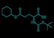 Boc-D-Glu(OcHex)-OH, 97%