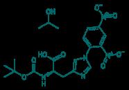 Boc-D-His(Dnp)-OH · IPA, 98%