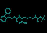 Fmoc-Lys(Boc)-OH, 98%