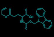 Fmoc-D-Glu(OAll)-OH, 98%