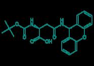 Boc-Asn(Xan)-OH, 98%