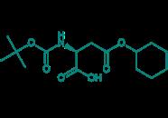 Boc-Asp(OcHex)-OH, 98%